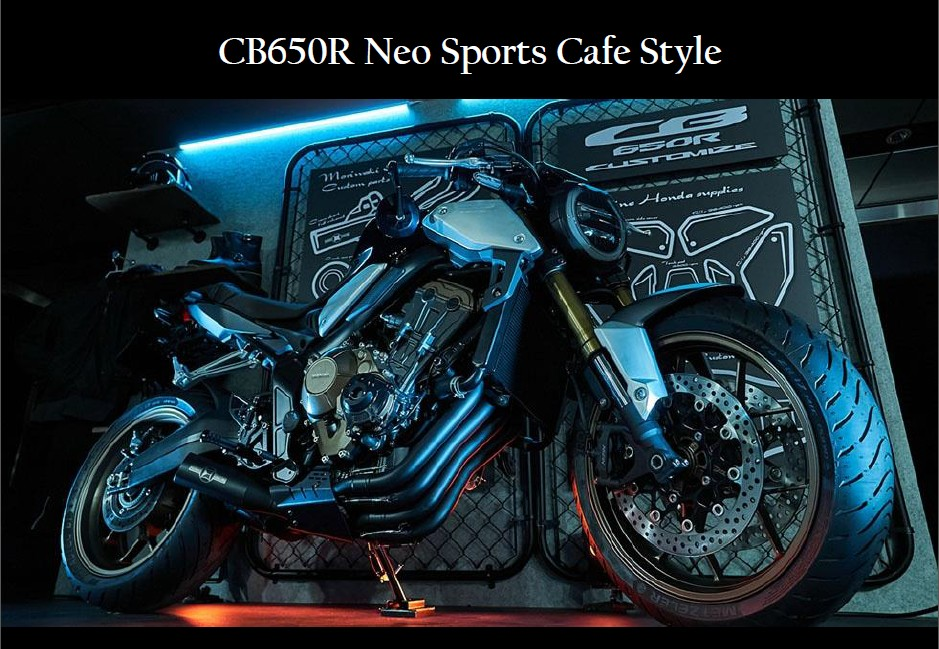 CB650R Neo Sports Cafe Style!!