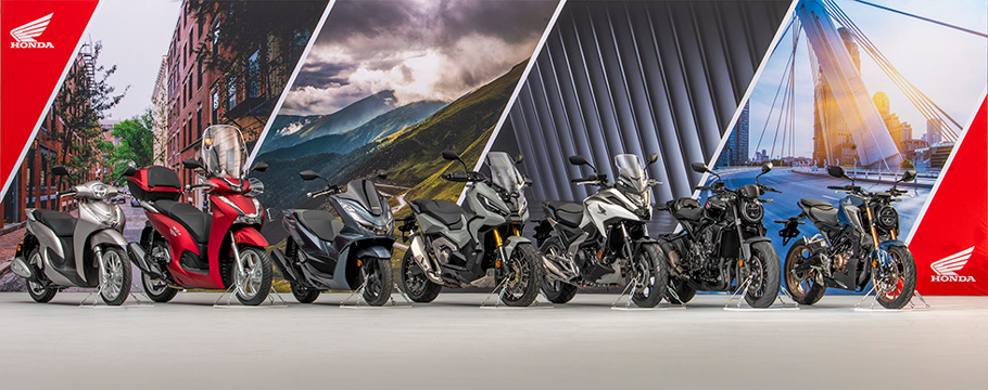 欧州向け二輪車2021年モデル7機種追加