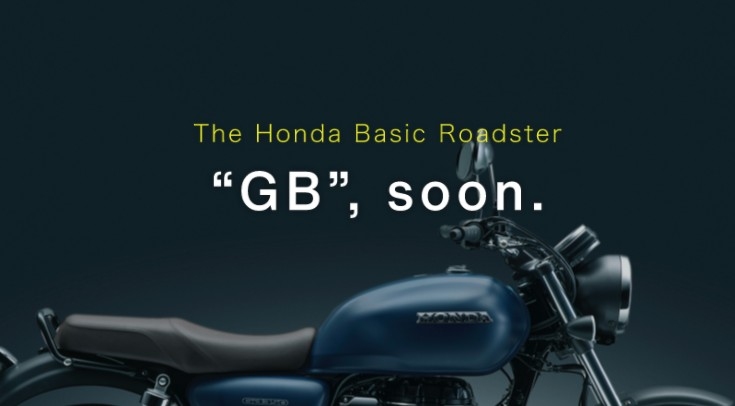 The Honda Basic Roadster GBまもなくです。